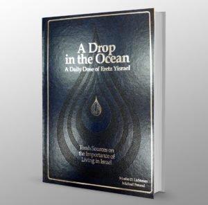 Una gota en el océano: una dósis diaria de Eretz Israel (Inglés)